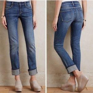 Anthro Pilcro & The Letterpress Parallel Jeans